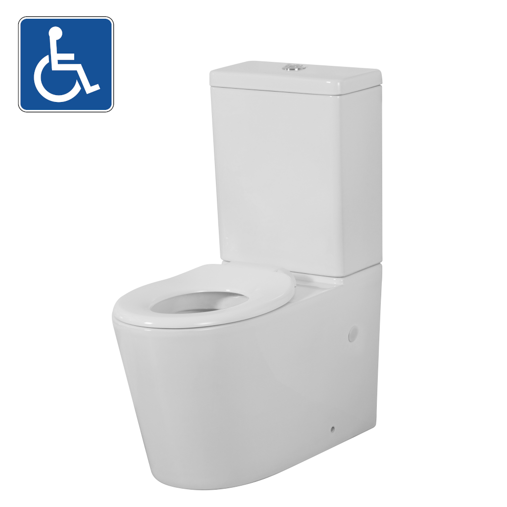 AVIS Junior Disability Wall Faced Toilet Suite