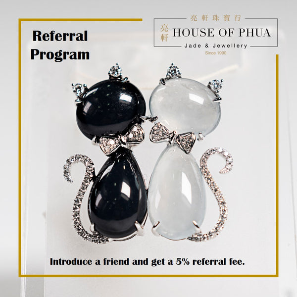 Here's our NEW Referral Program!  Introduce a friend and get 5% referral fee. WA 97910709 to book an appointment.