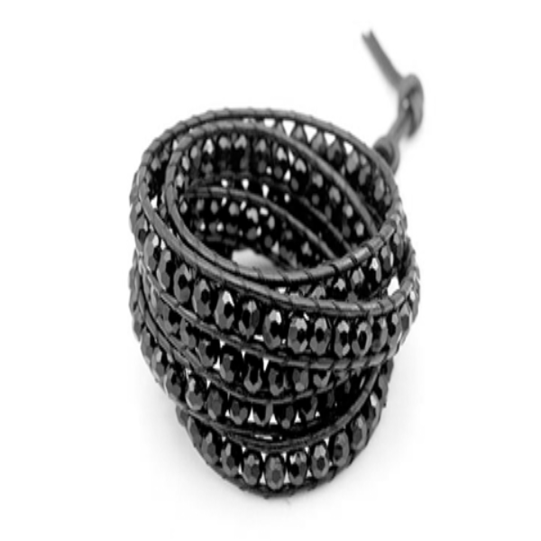 Midnight Crystal Beads - Florence Scovel - 2