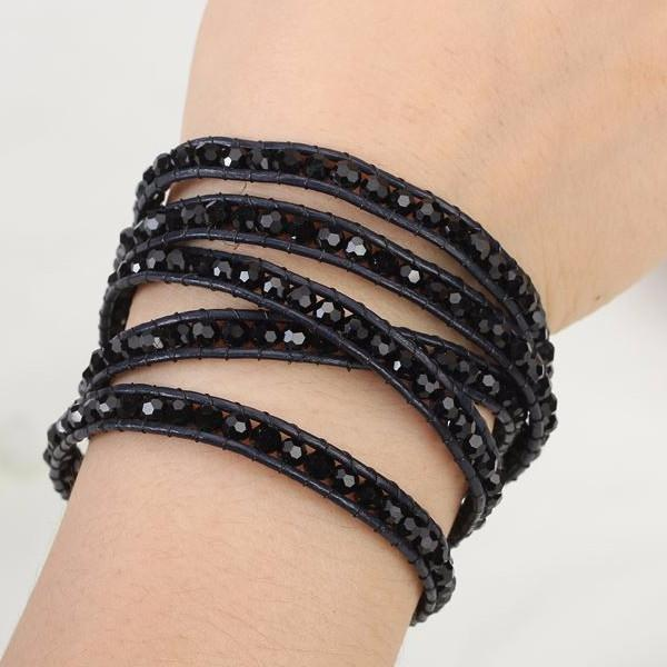 Midnight Crystal Beads - Florence Scovel - 3
