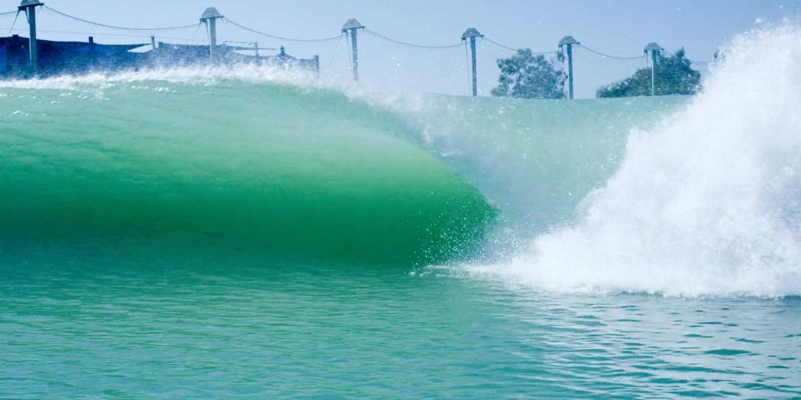 Bodysurfer Mark Cunningham Catches a Tube at The Surf Ranch