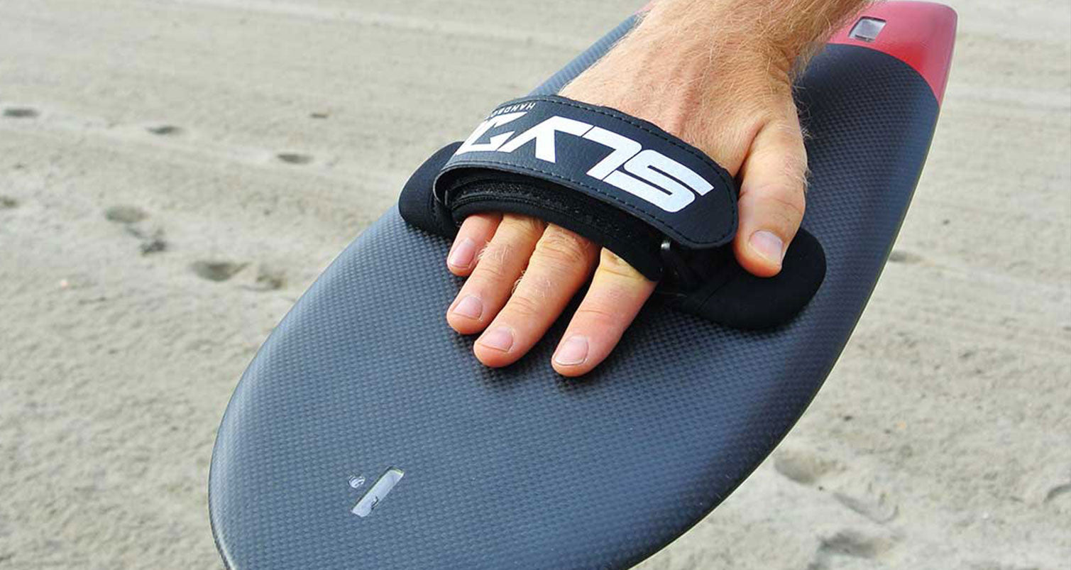 Hot New Product Alert: Slyde Handboards Black Hand Strap