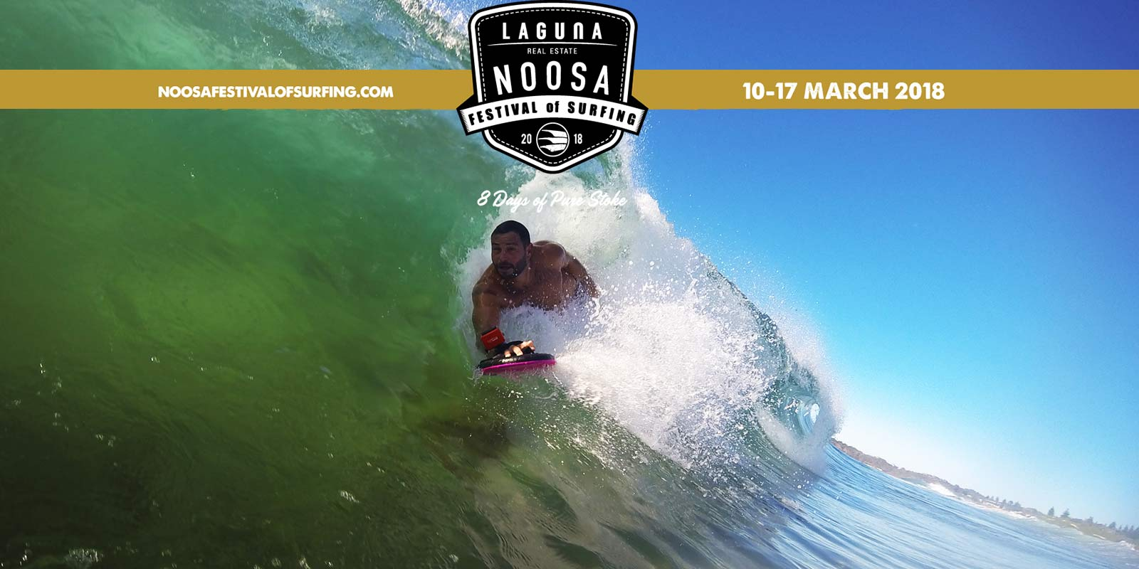 Noosa Festival of Surfing Shreds into it's 27th Year of Competition, Entertainment & Stoke