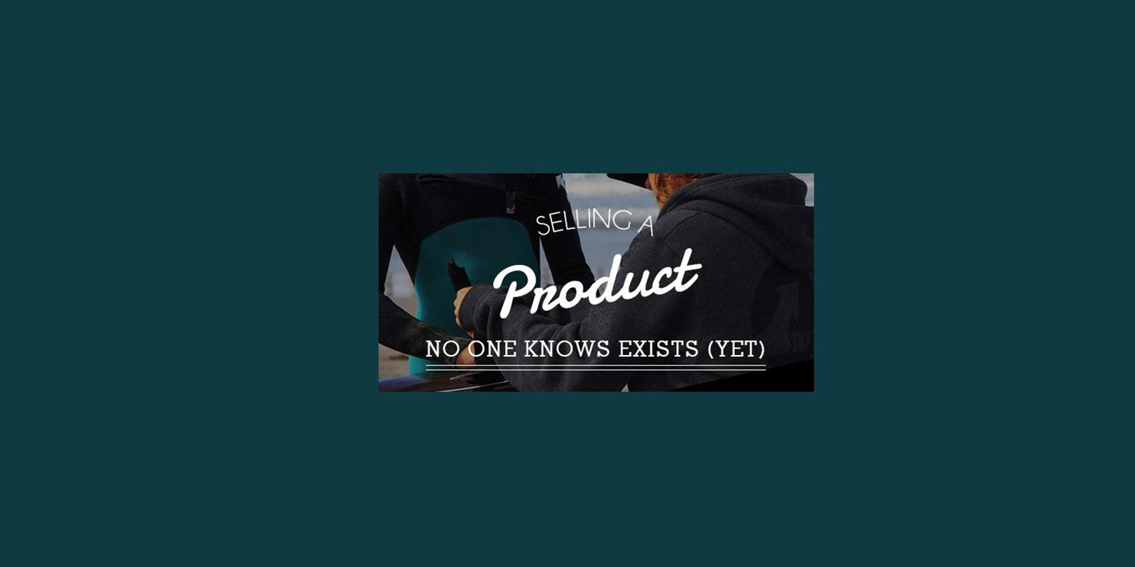 Shopify Masters Interview: Selling a product very few people know exist