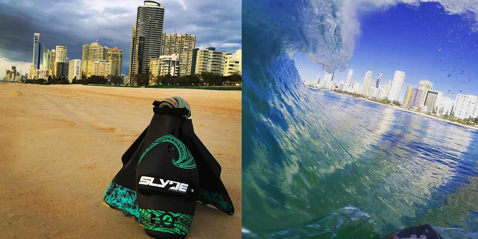 Slyde Handboards Expands to Australia Bodysurf The Gold Coast