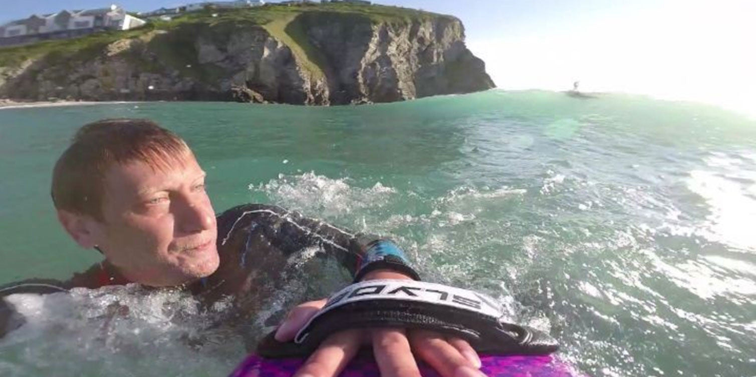 United Kingdom Bodysurfer Woos Slyde Handboards With His Epic Application Response