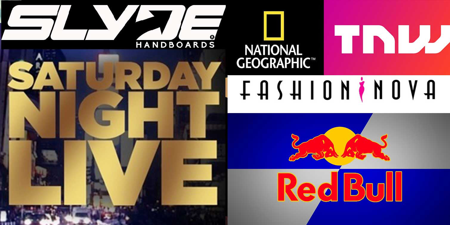 What Do Slyde Handboards, Red Bull, SNL & National Geographic Have In Common?