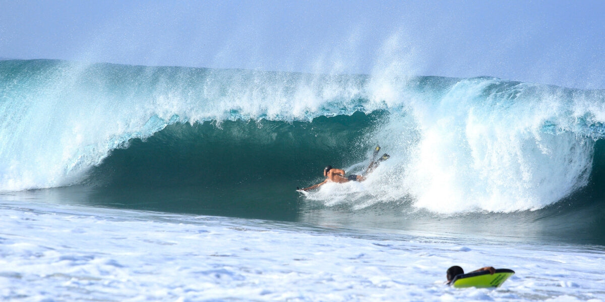 Slyde Exclusive Interview: Big Wave Bodysurfer Barchi Quadros of Puerto Escondido Mexico