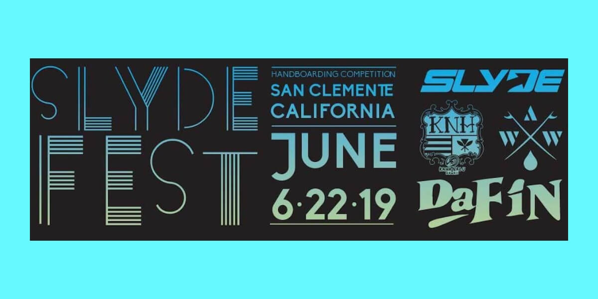 Iconic Surf Break: T-Street in San Clemente California to host SlydeFest 2019