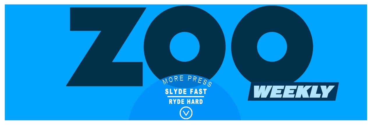 slyde handboards press in the Australian zoo weekly