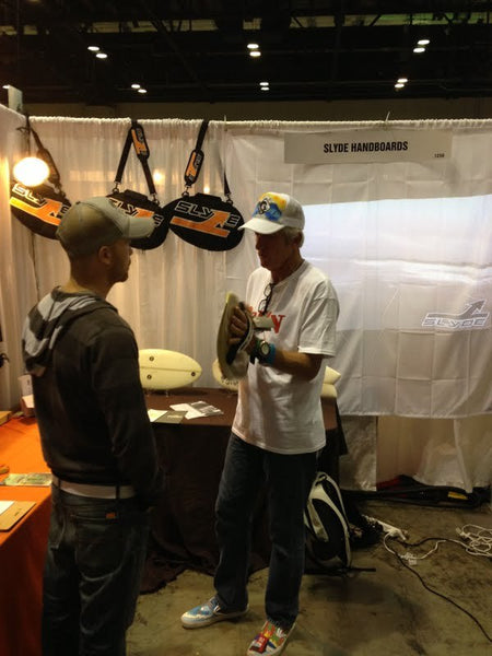 Bodysurfing Mark Cunningham at Surf Expo