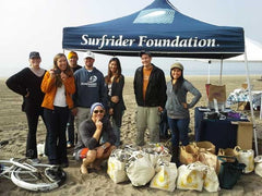 Dockweiler Beach cleanup Surfrider Foundation