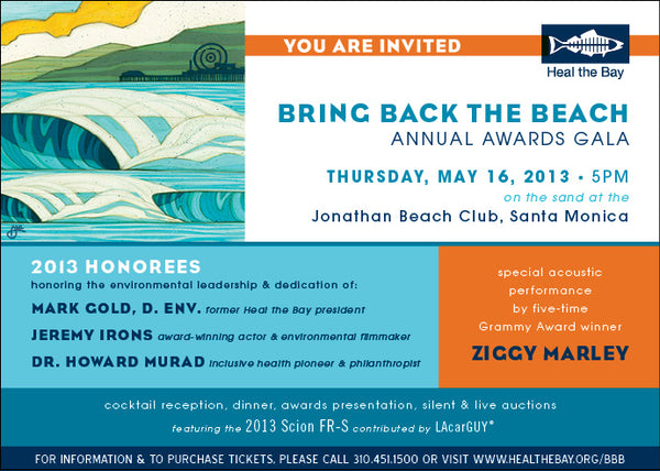 Heal the Bay Bring Back the Beach Benefit