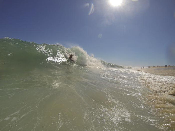 Best bodysurfing beaches in california wedge newwports beach