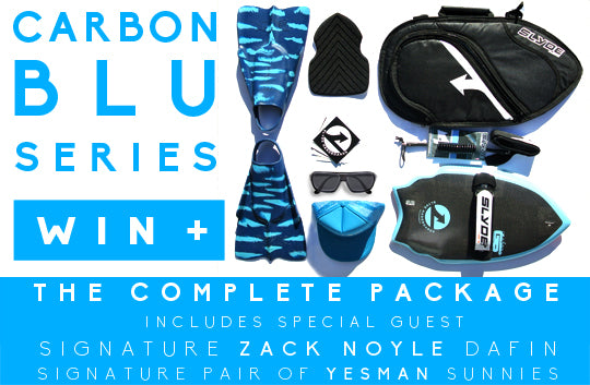 CARBON BLU GIVEAWAY FOR BODYSURFING WITH ZAK NOYLE