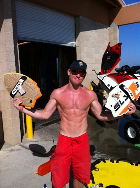 Slyde delivers handboards to the Huntington Beach Lifeguards
