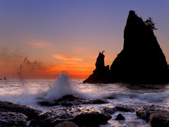 Olympic National Park Beaches world's most secluded waves