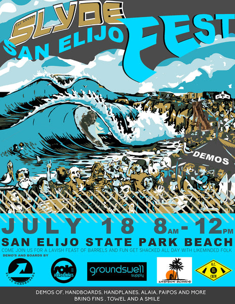 san elijo state beach slyde ride event