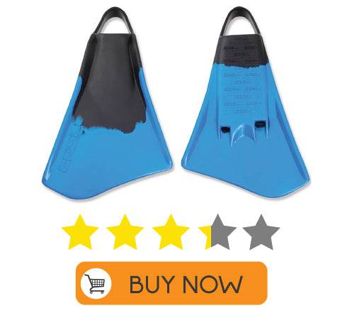 Choosing bodysurfing fins the review v7 v5 viper fins  swim fins