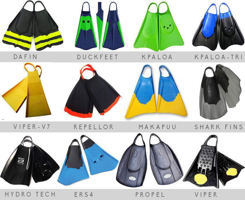 The list of bodysurfing fins for swimming up for review , dafin, churchill, redleys fins, duckfeet fins ,propel fins ers fins, h2o fins