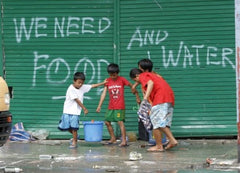 relief for victims of typhoon yolanda in the philippines