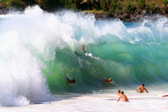 Waimea Bay best bodysurfing beaches.