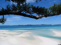 Whitehaven Beach world's most secluded waves