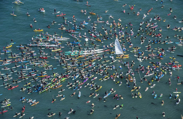 Hobie Alter paddle-out