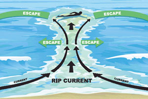how to bodysurf beware of rip currents