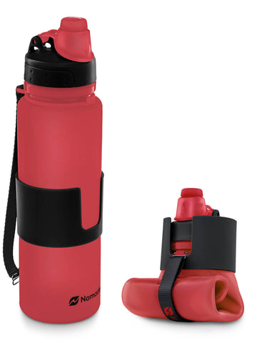 Collapsible water bottle TSA approved