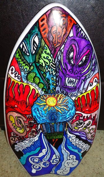 David Kim Slyde board art