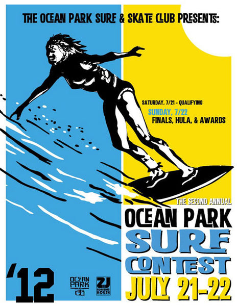 Second Annual Ocean Park Surf Contest