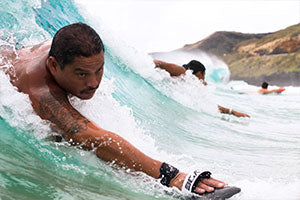 how to to bodysurf and wave handplane