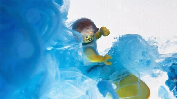 Lego Ink surf photography