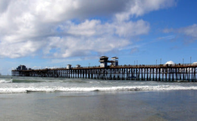 Oceanside Pier World Bodysurfing Champs Oceanside, California.