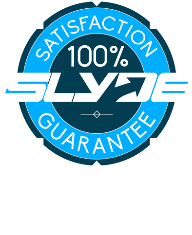 Slyde 100% guarantee satisfaction guarantee