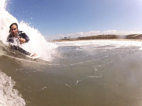 shore break bodysurfing dockweiler