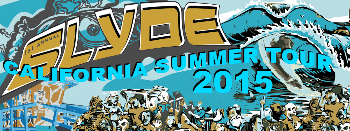 Slyde Handboards Summer Tour 2015