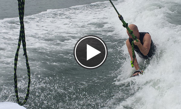 how to Wake surf a handboard