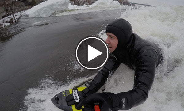 Don't let an ice berg stop you getting in the water