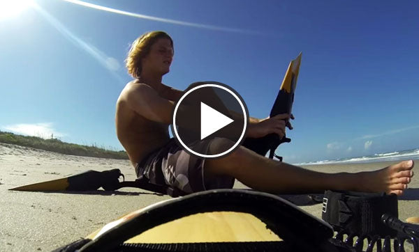 FLORIDA FUN GETTING CLOSEOUTS on a handboard
