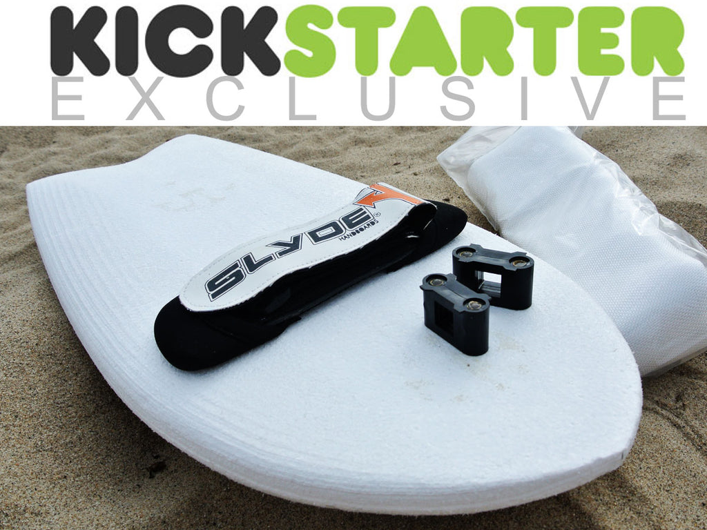 Slyde handboards build it your own foam blank handplane