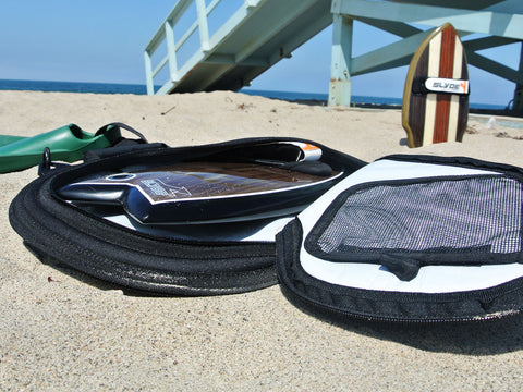 slyde handboard board bag for handboards and handplane  bodysurfing  with the handboard phish