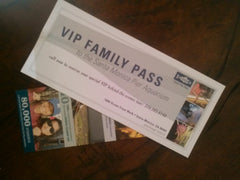 Heal the Bay thanks Slyde Handboards VIP Family Pass Santa Monica Aquarium