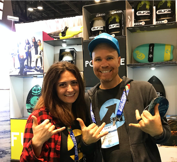 Slyde Handboards Surf Expo 2018