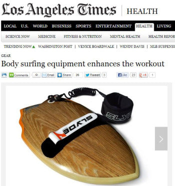 Slyde and bodysurfing in the LA Times.
