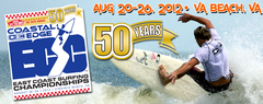 East Coast Surfing Championships 2012