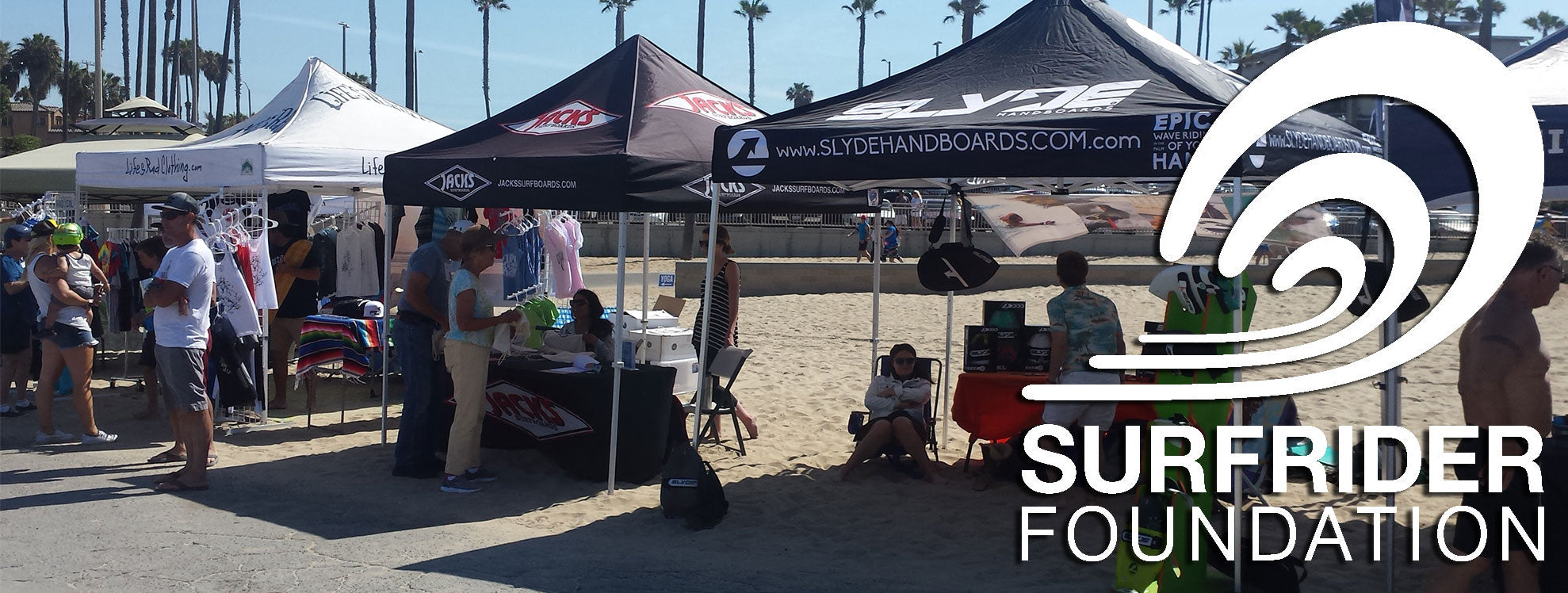 Surfrider and slydehandboards in huntington beach