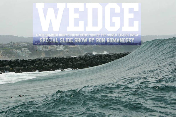 World famous wedge slide show.