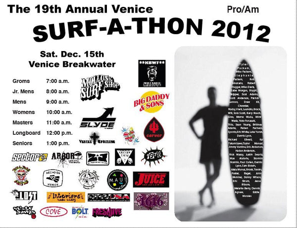 2012 Venice Surf-a-Thon at the Venice Breakwater